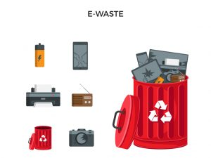 skip bins e-waste